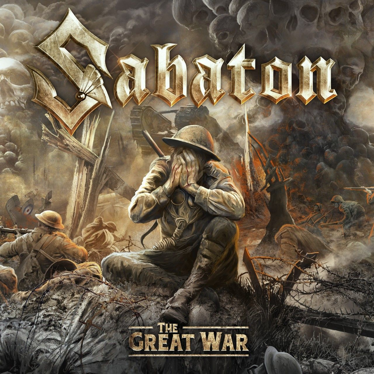 Sabaton - The Great War, CD-Cover