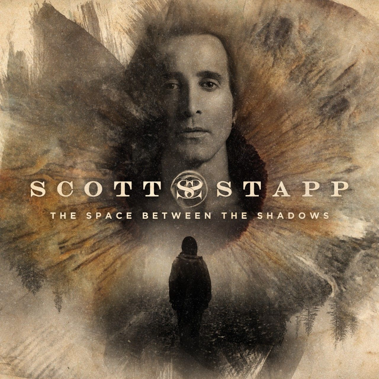 Scott Stapp - The Space Between The Shadows, CD-Cover