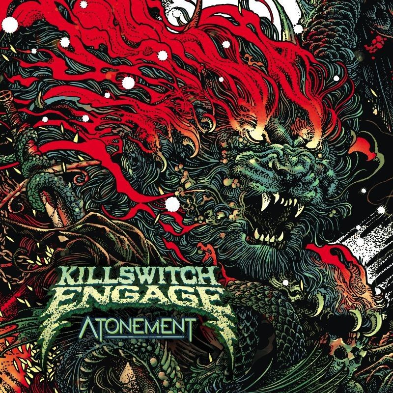 Killswitch Engage - Atonement, CD-Cover