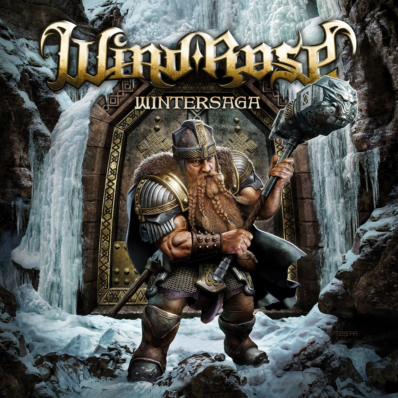 Wind Rose - Wintersaga, CD-Cover