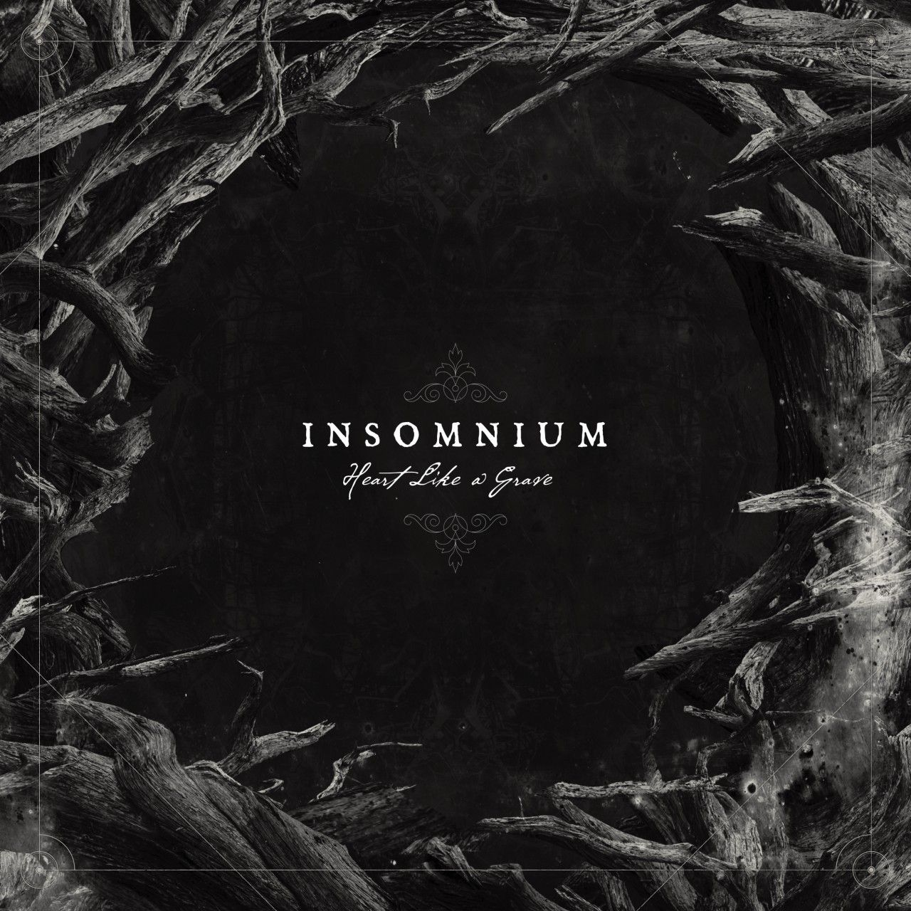 Insomnium - Heart Like A Grave, CD-Cover