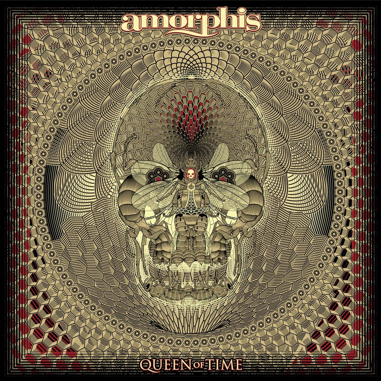 Amorphis - Queen Of Time, CD-Cover