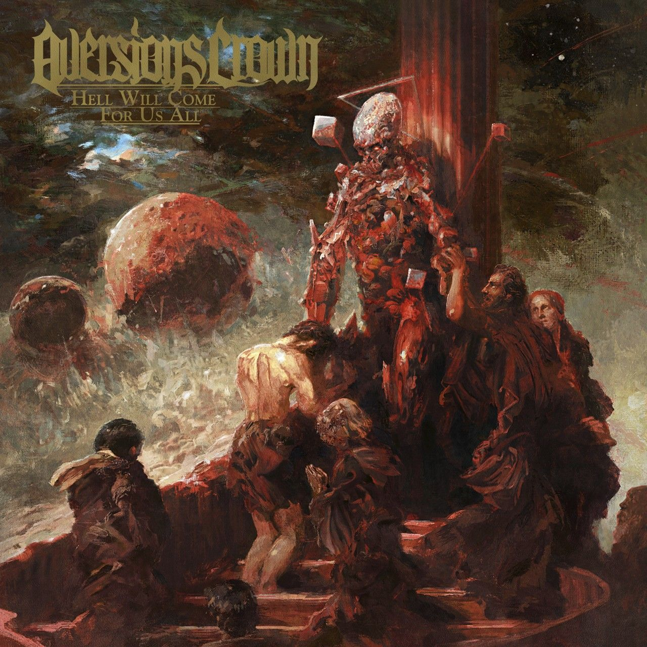 Aversions Crown, CD-Cover