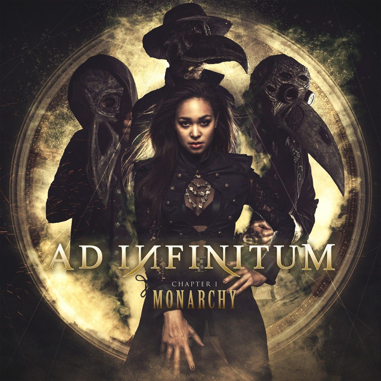 Ad Infinitum - Chapter I: Monarchy, CD-Cover