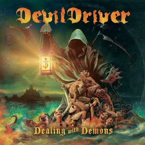 DevilDriver - Dealing With Demons I, CD-Cover