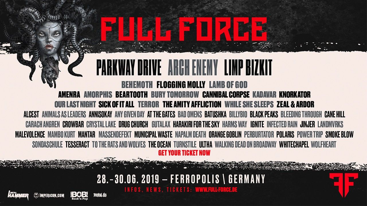 ARTE Concerts streamt Full Force 2019